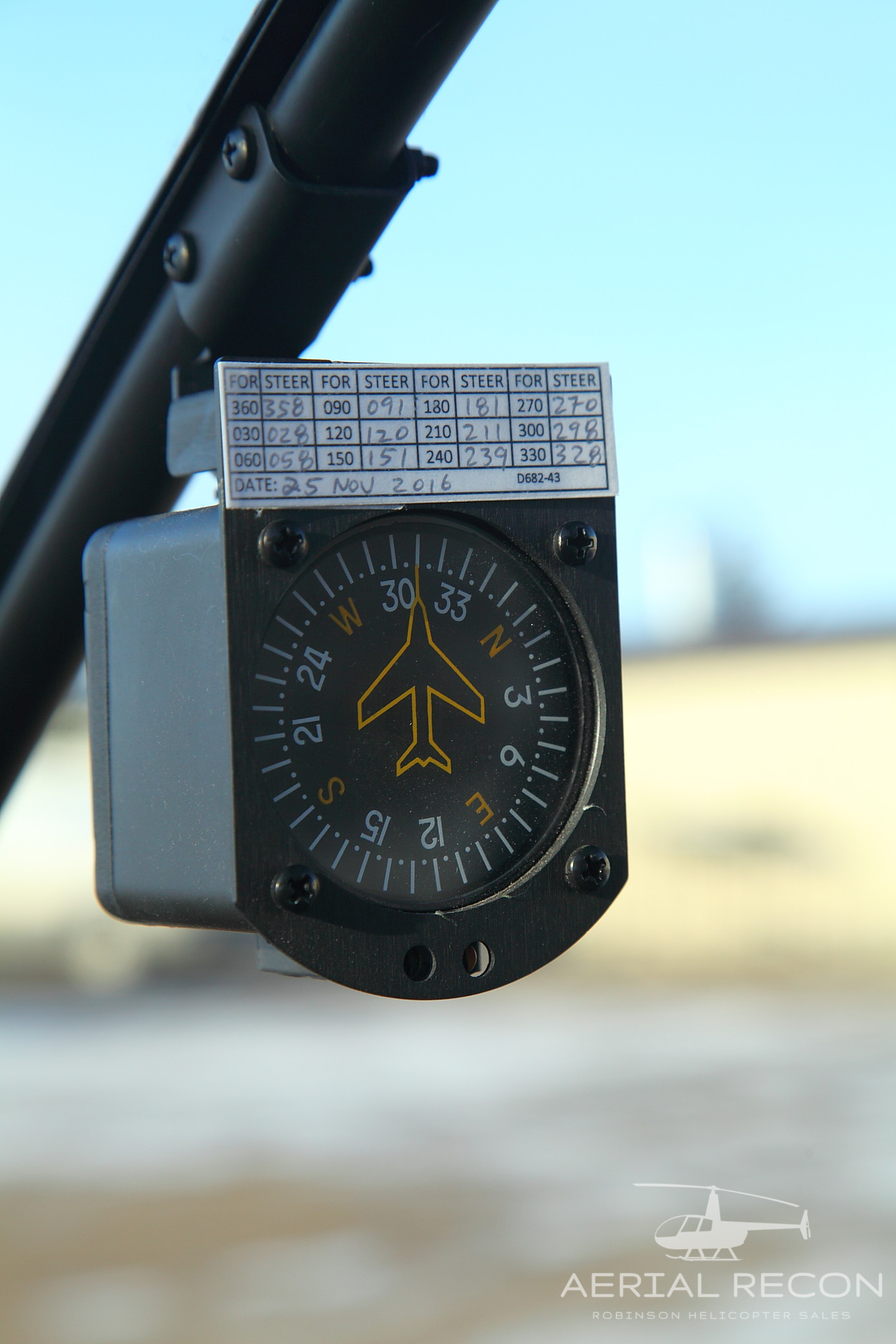 Likely... swinging vertical card compass are
