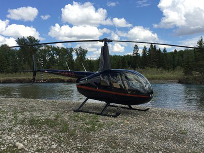 R44 Raven II by River