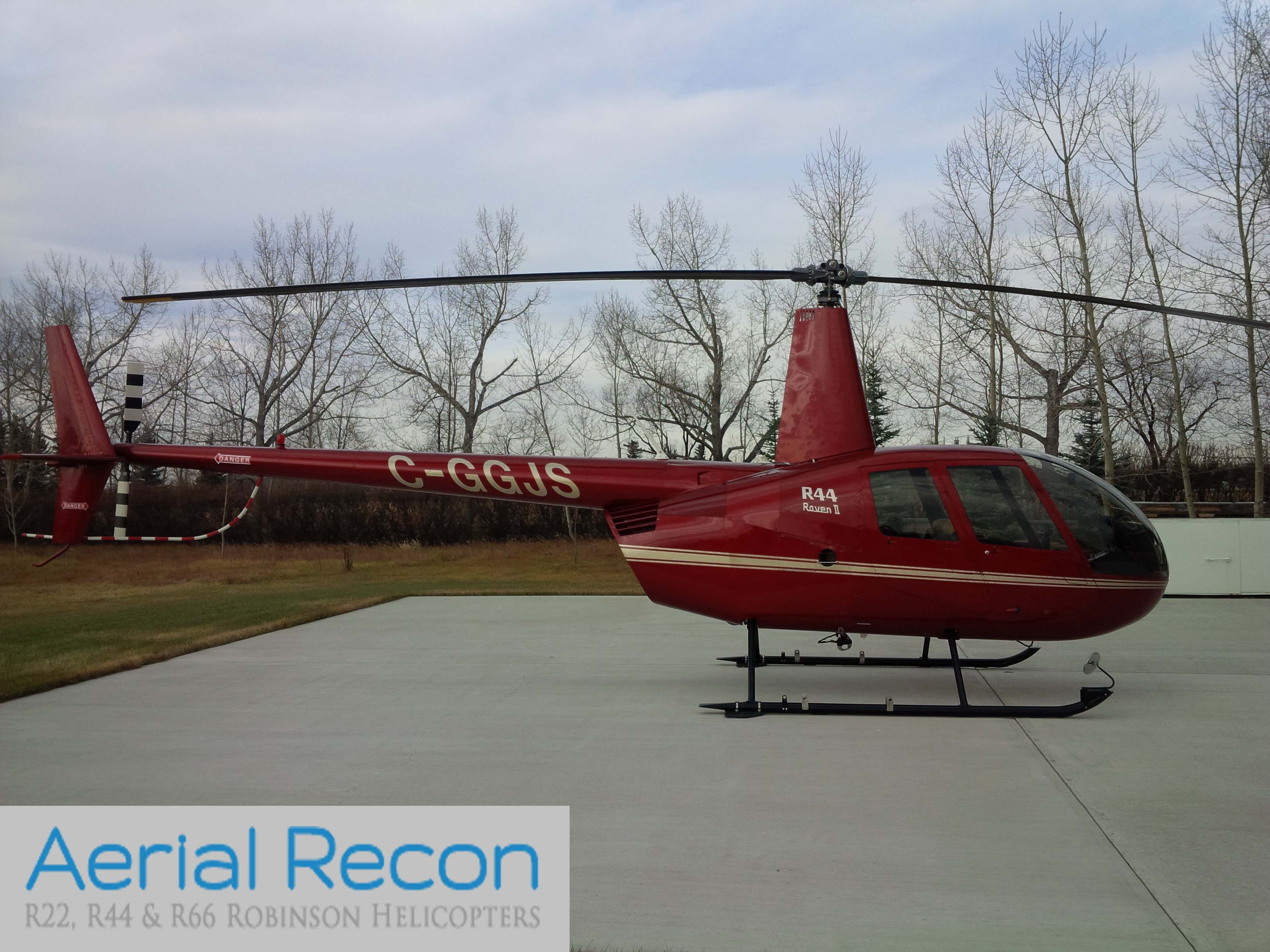 SOLD 2008 R44 Raven II : Aerial Recon Ltd | Robinson Helicopter Dealer
